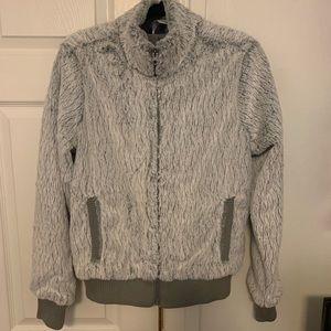 NWOT Grey Patagonia zip-up Jacket- Size M